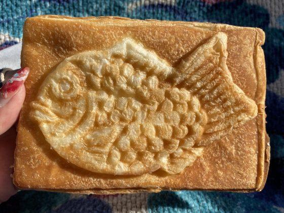 果香音クロワッサン鯛焼き