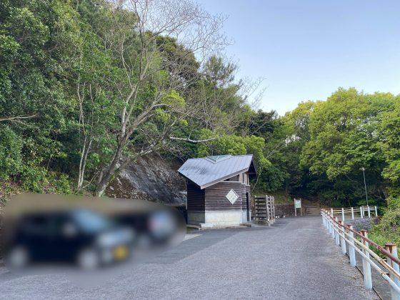 高舞登山駐車場