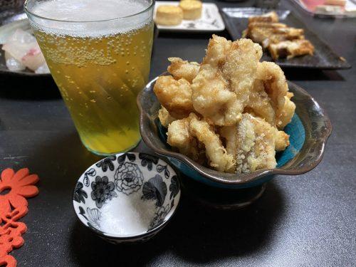 ガラカブの天ぷら